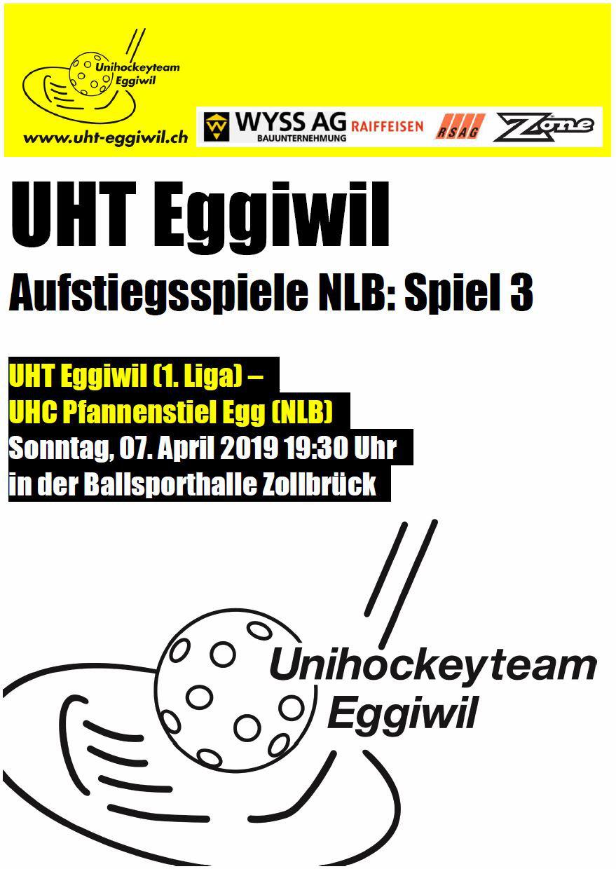 Herren l -Pfannenstiel Egg, Spiel 3