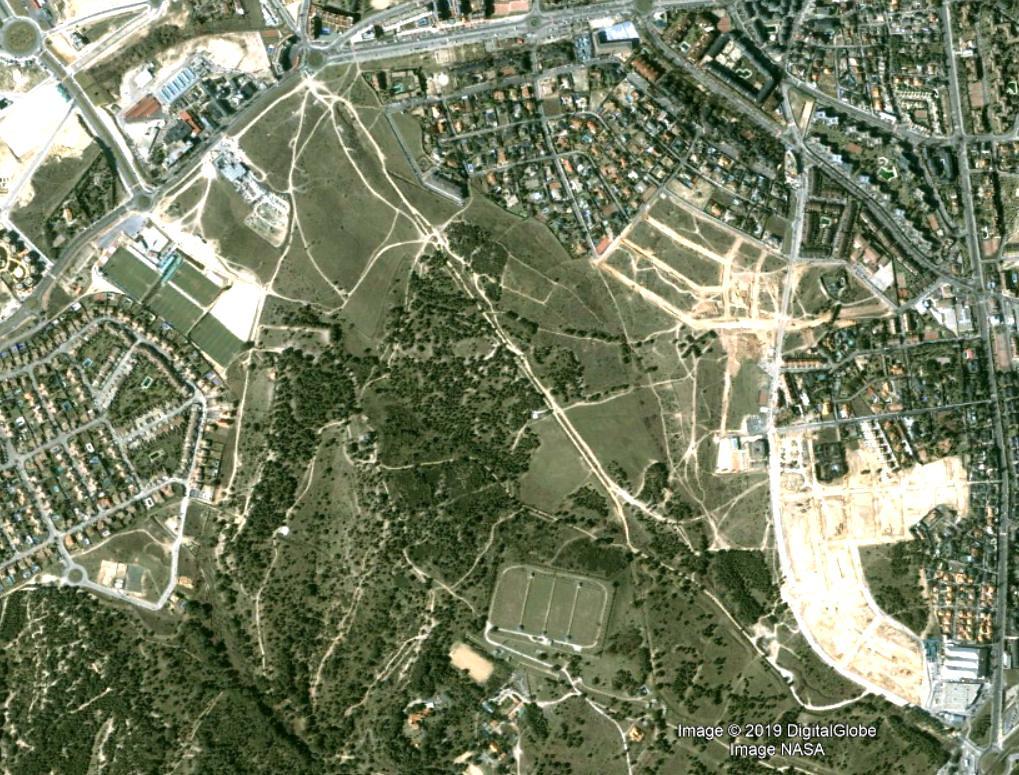 monte del pilar, majadahonda, madrid, donde tito, antes, urbanismo, planeamiento, urbano, desastre, urbanístico, construcción