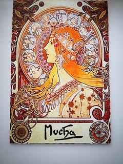 Alphonse mucha - Zodiac 400-500 pcs. Mrgogo Puzzles  Www.mrgogoworkshop.etsy.com