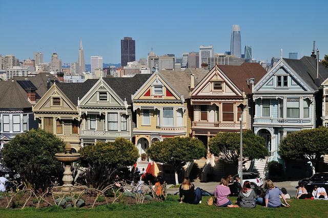 Alamo Square View, San Francisco