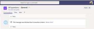 SSN DLP policy example Microsoft Teams member | by expiscornovus_img