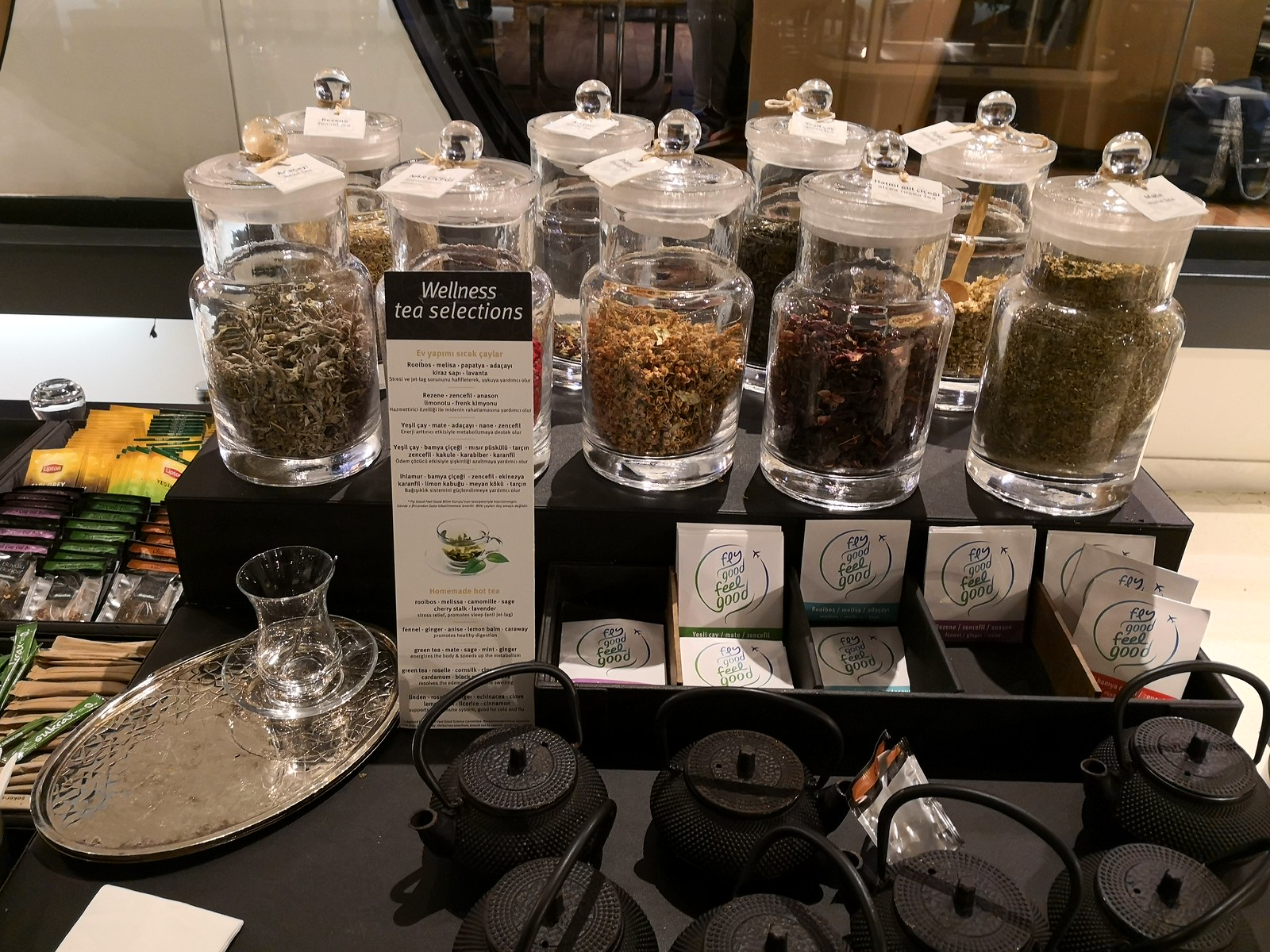 Wellness tea selections