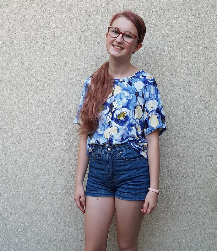 Designer Stitch Gemma twist top in viscose knit from Spotlight
