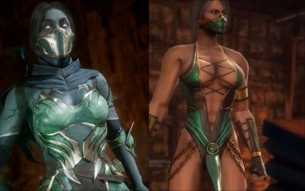 Mortal Kombat 11 Jade Vs Mortal Kombat 9 Jade A Photo On Flickriver