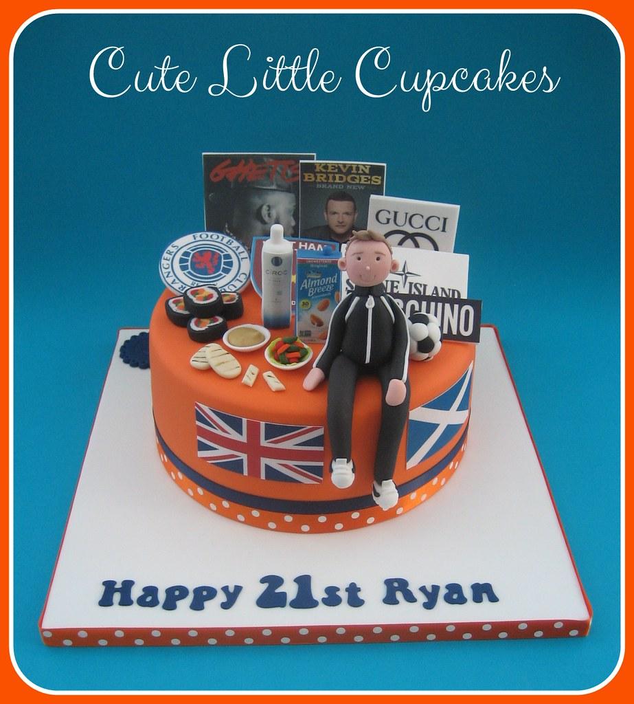 Fantastic Favouritethings 21St Birthday Cake Heidi Stone Flickr Funny Birthday Cards Online Benoljebrpdamsfinfo