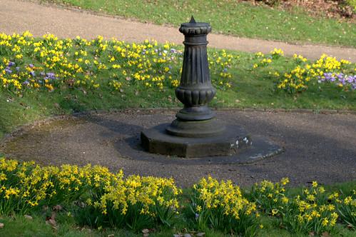 Sundial at Miller Park, Preston | by Tony Worrall