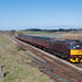 """WCRC 'Crompton' 33029 hurries through Shotwick as it leads the 1Z87  Branch Line Society """"The Ruby Vampire"""" from West Kirby to Southport on the 24th March '19. D6515 brought up the trail. by mark.latham@ymail.com"""