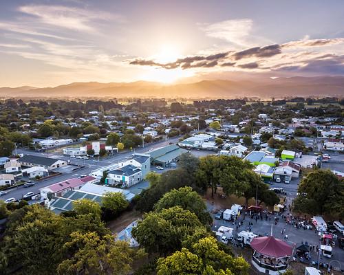 2019 aerialphotography dji djimavicpro drone dronephotography landscape newzealand tararuaranges wairarapa carterton wellingtonregion nz sunset