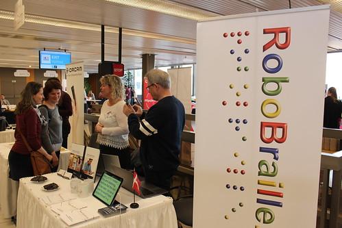 Expozice společnosti RoboBraille Outreach