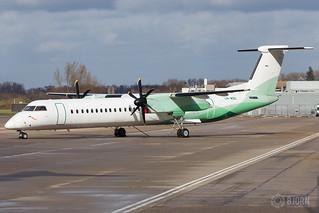 LN-WDE Widerøe De Havilland Canada DHC-8-402Q Dash 8, Maastricht Aachen Airport - EHBK/MST   by neplev1