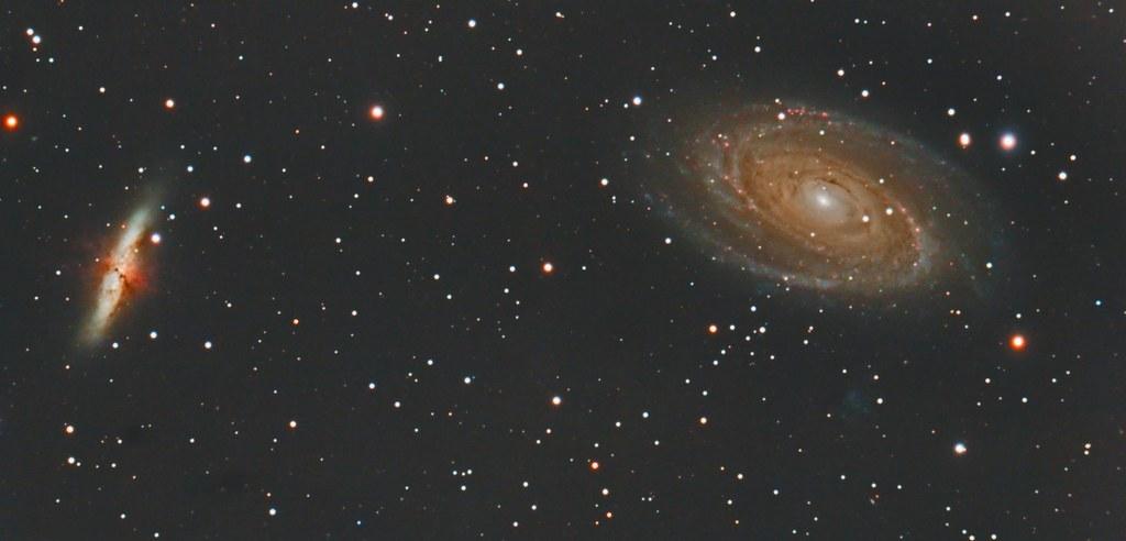 Galassie Di Bode M81 E M82