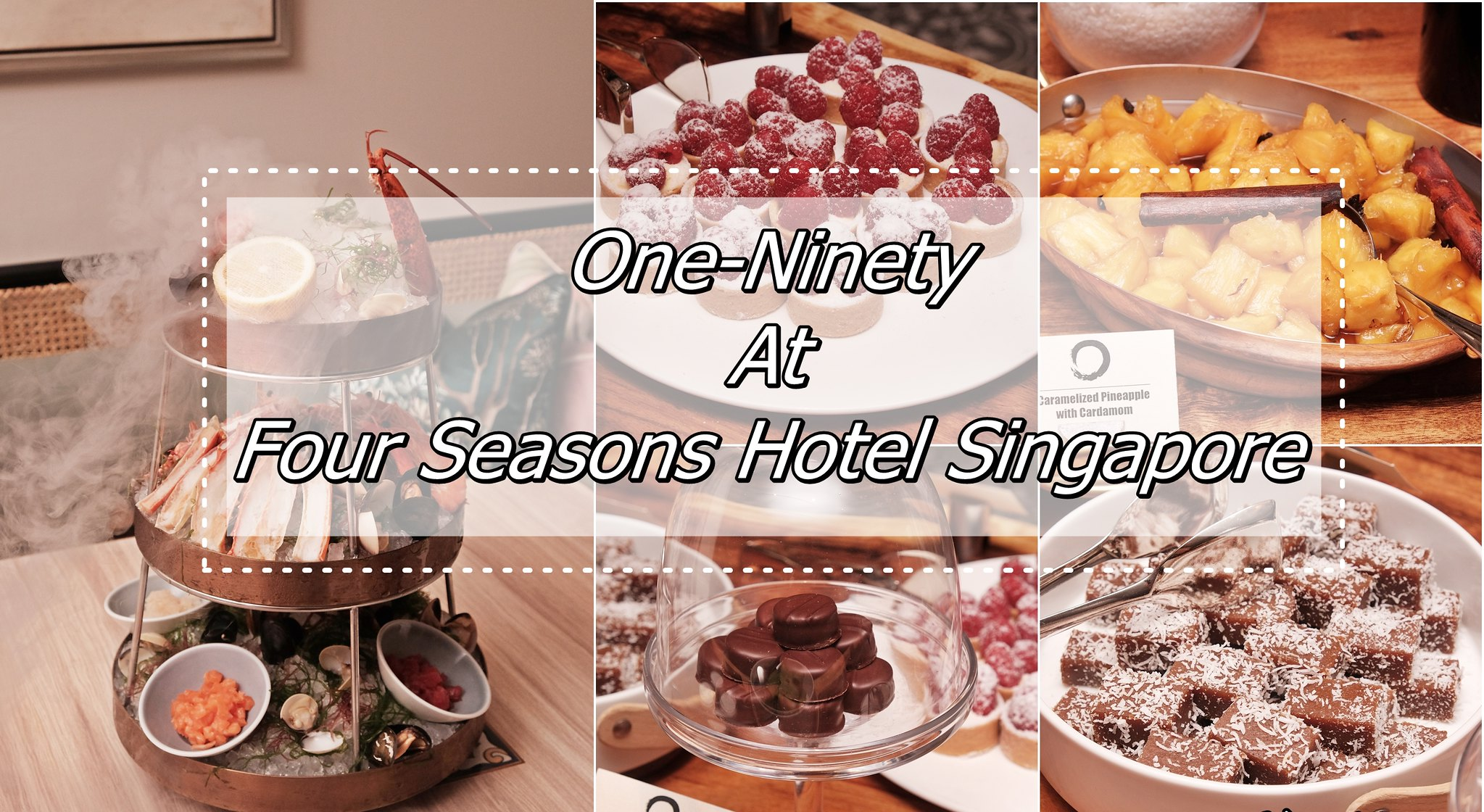 [SG EATS] One-Ninety At Four Seasons Hotel Singapore- Botanical Inspired Modern Asian Brasserie