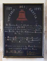 1837 1897 Victoria Dei Gratia peal