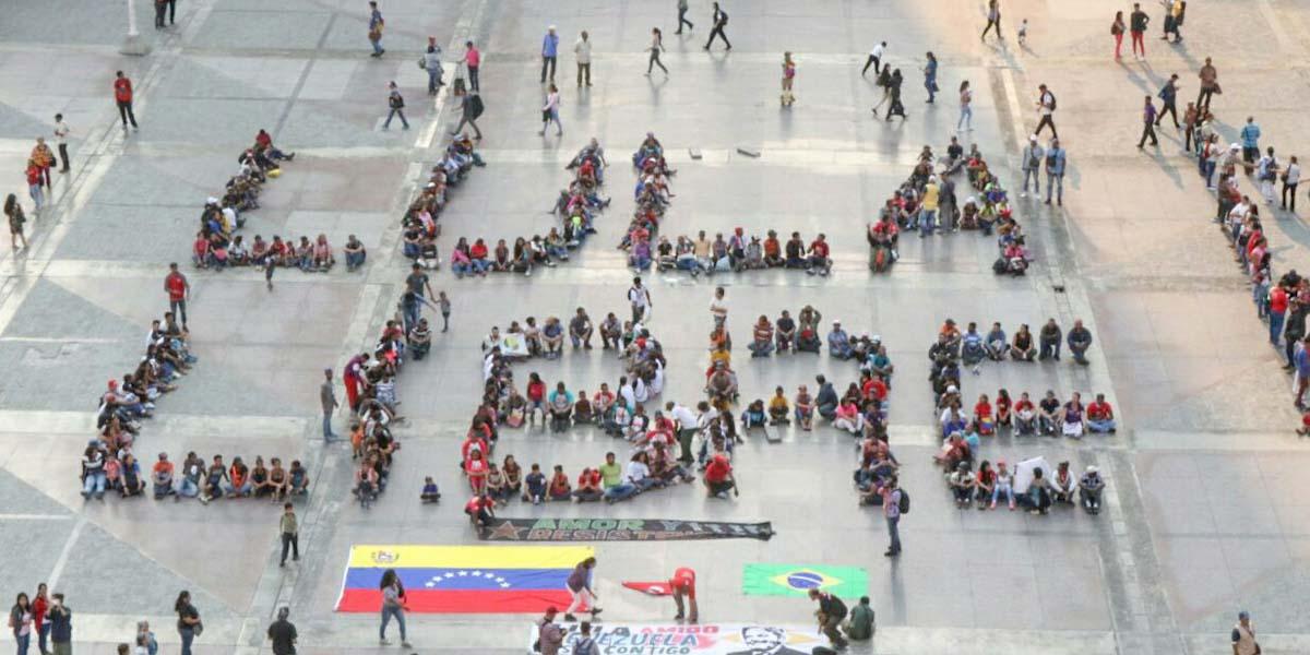 Venezuela realiza acto de solidaridad con Lula