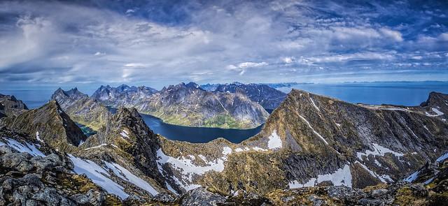 panorama Munken top Lofoten