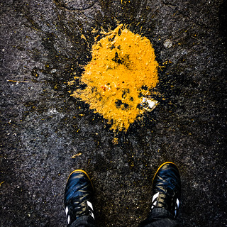 Vomit on the asphalt. Alcohol problem | by Ivan Radic
