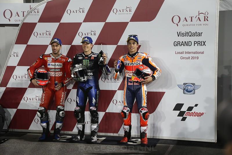 Top 3 MotoGP kwalificatie