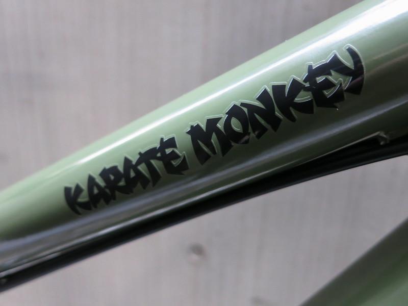 SURLY Karate Monkey Khaki Logo 2