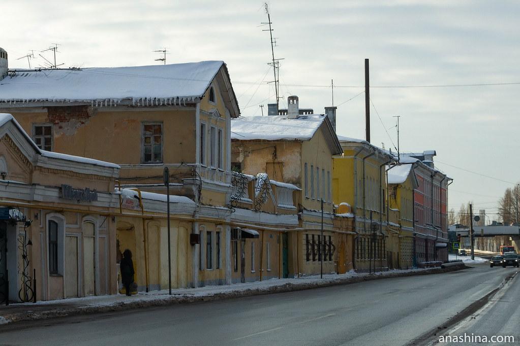Застройка Нижне-Волжской набережной, Нижний Новгород