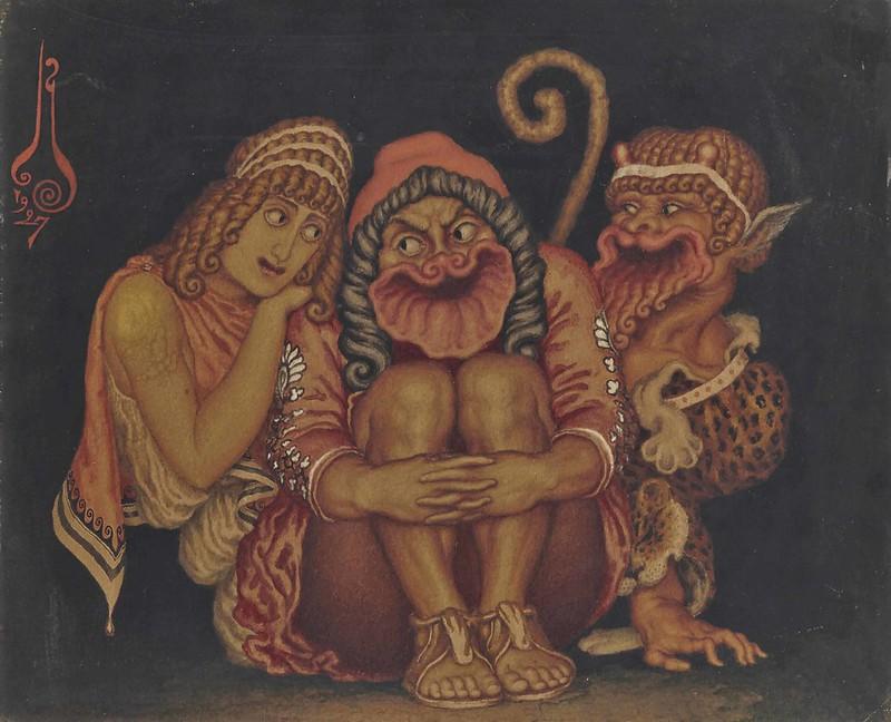 Nicolas Kalmakoff - Ancestral Spirits, 1927