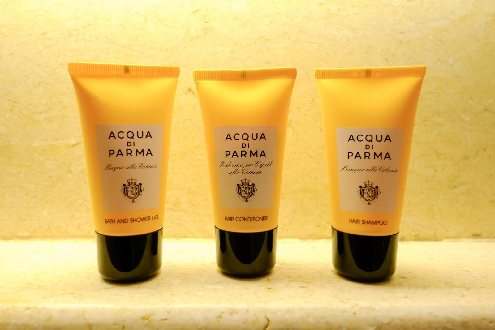 Acqua di Parma amenities