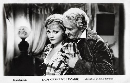 Anna Sten and Richard Bennett in Nana (1934)
