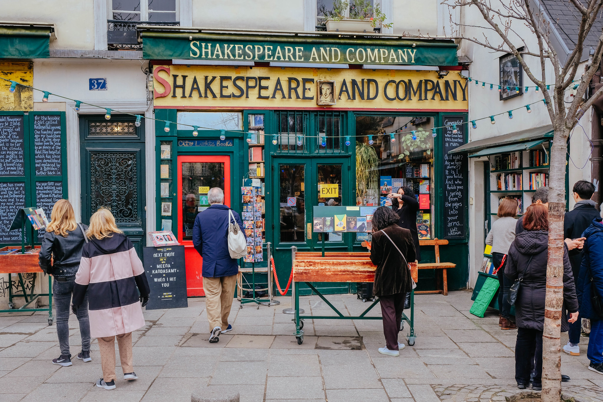 Shakespeare bookshop!