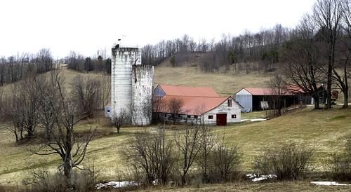 barn landscape farm