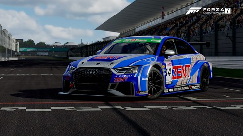 Zent Racing Audi S3 Super Taikyu ST-TCR | by Alex-Banks [ABGRAPHICS]