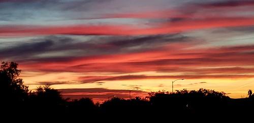 sunrise surpriseaz arizona phonepics clouds