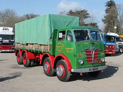 quicksilver coaches posted a photo:VKP 7221955 Foden S18A. Pearson & Sons, CoventryJacks Hill Cafe, Towcester, 14 April 2019