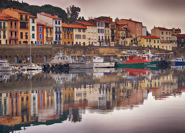 Rita Crane Photography: The Red Boat, Port-Vendres, France
