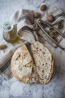 Pane di solina alle noci2 | by ileana_pavone