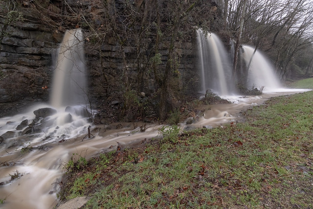County House Falls, White County, Tennessee