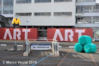 Ingang metrostation Van Nellefabriek Van Nelle-fabriek 09-02-2019 | by Marco Verzijl