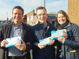 Nigel Huddleston MP canvassing with Rachel Maclean and Redditch candidate Pete Fleming | by Nigel Huddleston MP for Mid Worcestershire