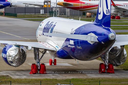 D-AUBN // GoAir // A320-271N // MSN 8445 // VT-WGU