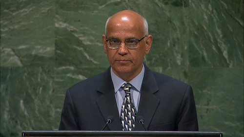 Statement by Mr. Alok Vardhan Chaturvedi, Director General, Directorate General of Foreign Trade  and Chair of the Kimberley Process onAgenda Item 33 - The role of diamonds in fuelling conflict, 73rd Session of the United Nations General Assembly.   by pminyk