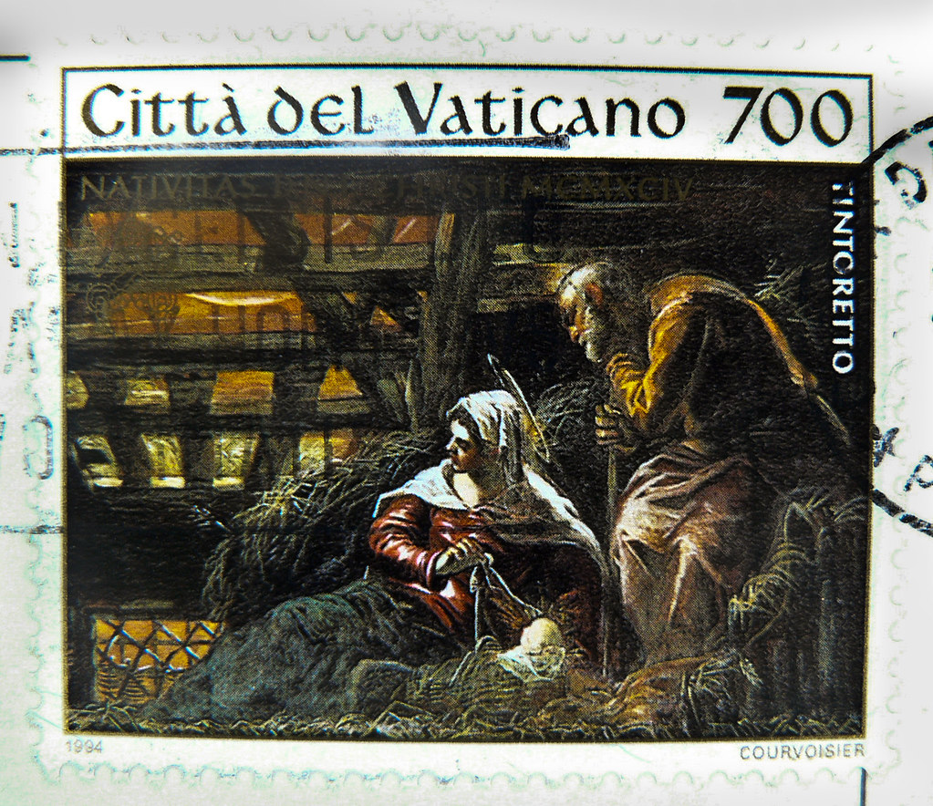 Top Ten Weihnachtsessen.Great Xmas Stamp Vatican 700 L Birth Of Jesus Christ Pai Flickr