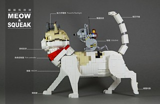 nEO_IMG_Meow and squeak_11   by DOGOD Brick Design