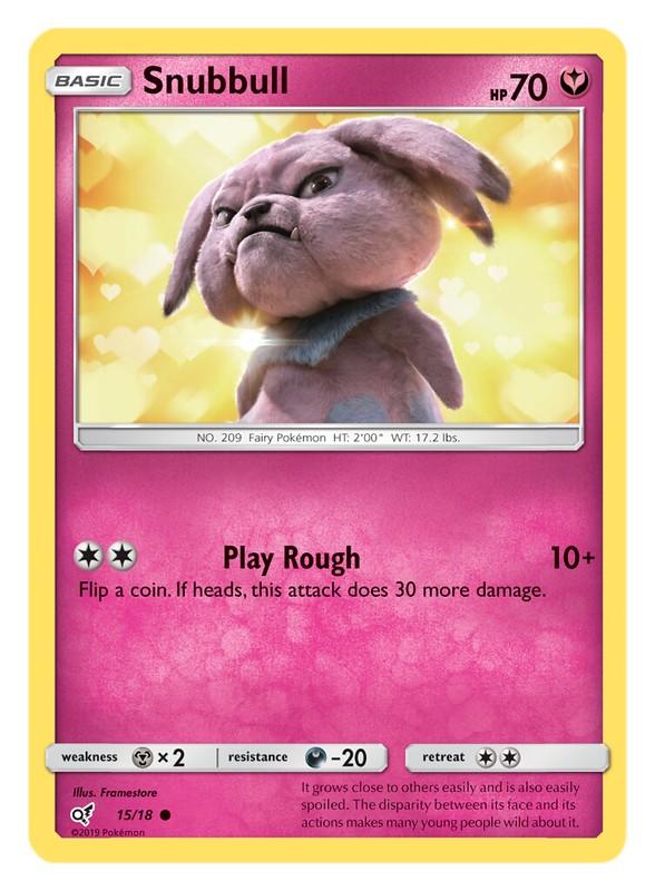 Pokémon TCG Detective Pikachu_Snubbull