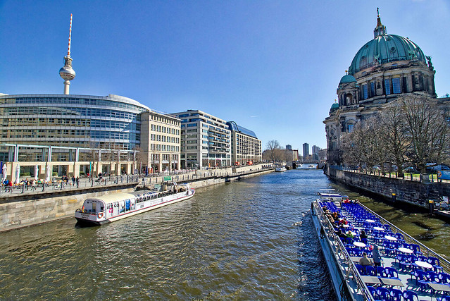 Berlin - Spree an der Museumsinsel
