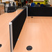 Desk divider screen E50