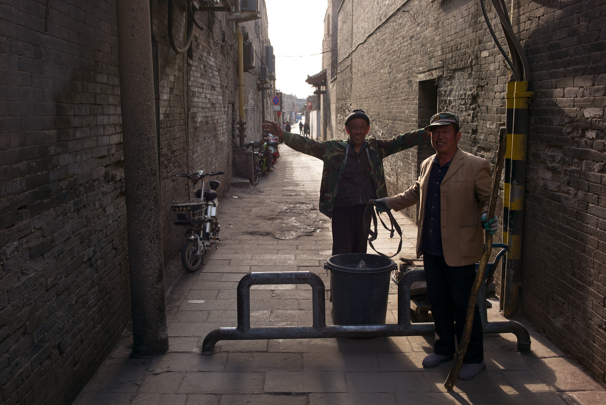 Gasse in Pingyao