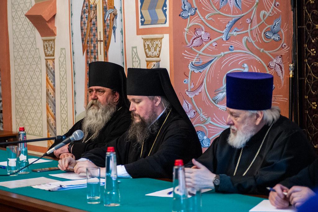 В Новоспасском монастыре состоялось собрание духовенства Юго-Восточного викариатства г. Москвы