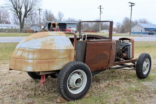 missouri billings antique car auto ford modela