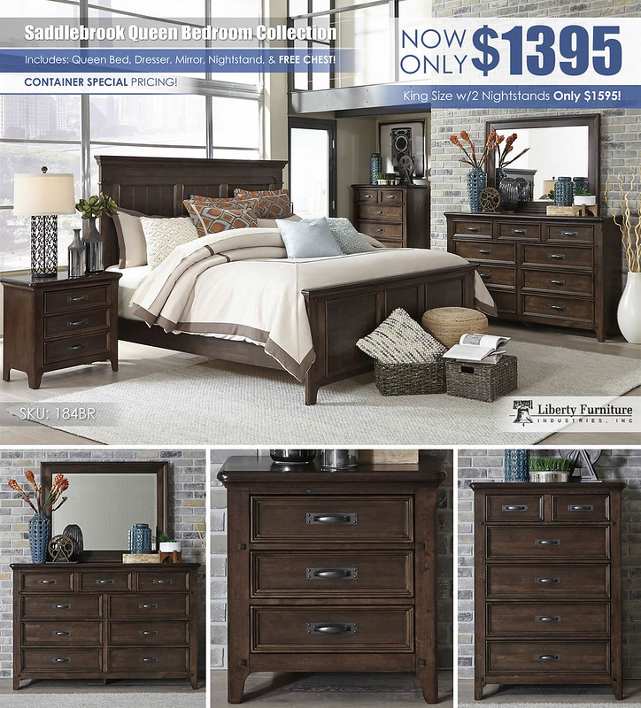 Saddlebrook Bedroom Collection by Liberty Furniture_184BR