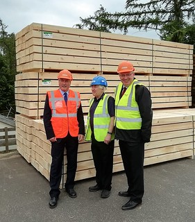 Visiting Petersmuir sawmill | by Iain Gray MSP