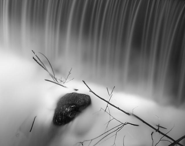 Alone in the river