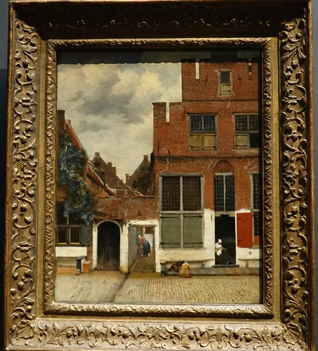 Vermeer, View of Houses in Delft, ca. 16670; Rijksmuseum, Amsterdam (2) | by Prof. Mortel